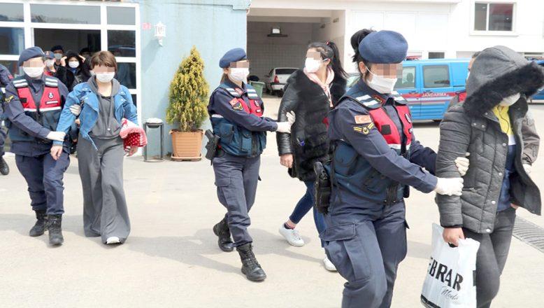 Fuhuş operasyonunda 6 gözaltı