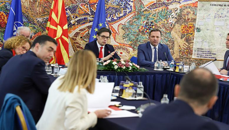 Makedonya Milli Güvenlik Konseyi'nde koronavirüs salgını ele aldı