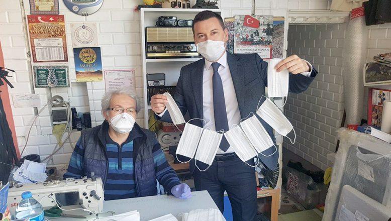 Belediye ve terziler el ele vererek maske üretiyor