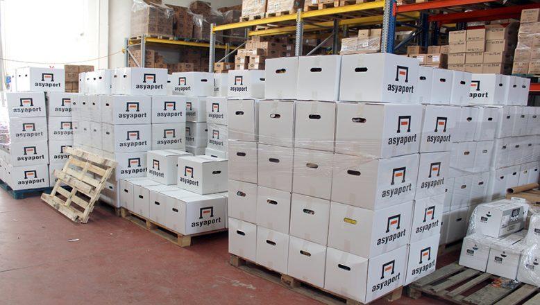 Asyaport'dan, ihtiyaç sahiplerine gıda kolisi desteği