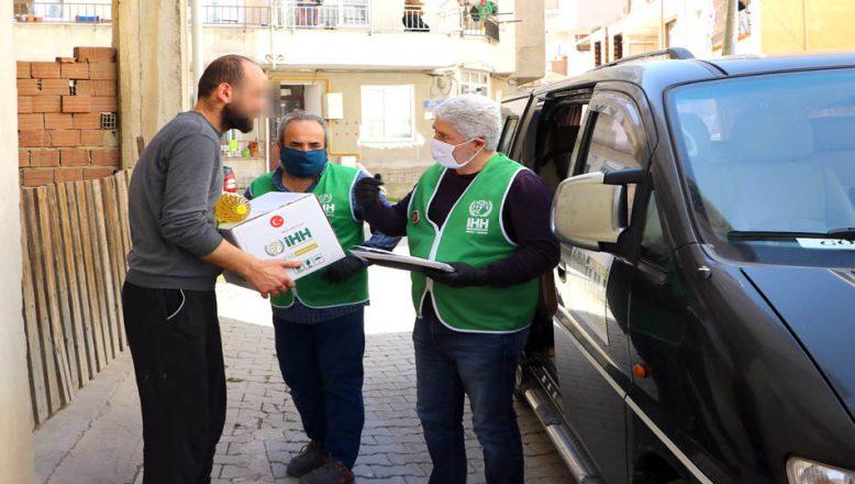 750 aileye gıda yardımı