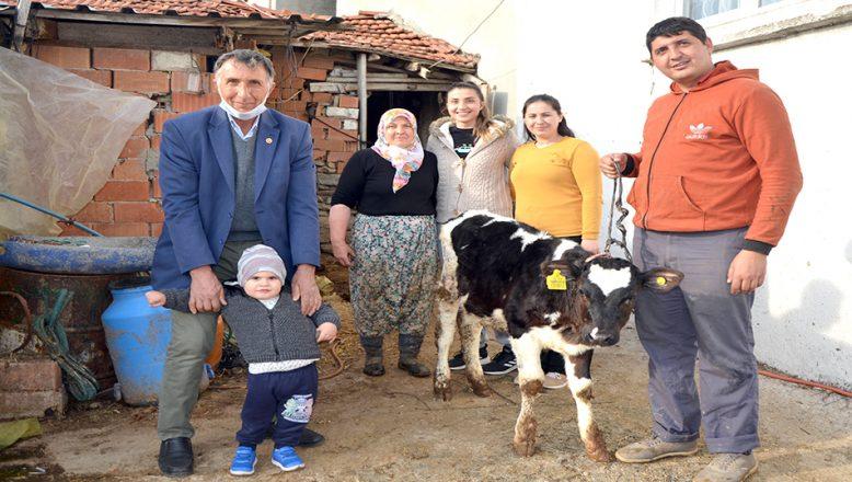 Çiftçilerden, Milli Dayanışma Kampanyası'na destek