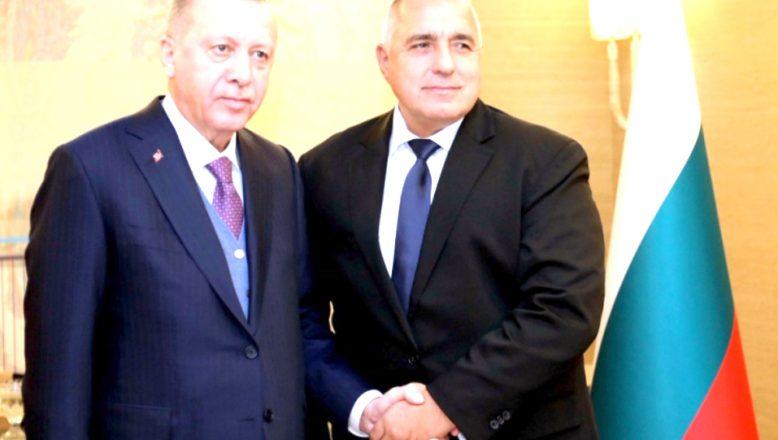 Başbakan Borisov ile Cumhurbaşkanı Erdoğan görüştü