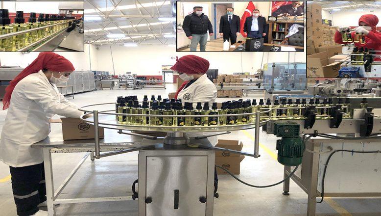 Kozmetik firması, sağlıkçılara 15 bin kolonya hediye etti