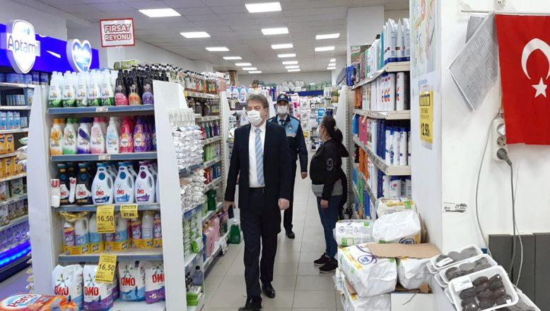 Market ve iş yerlerine, koronavirüs denetimi