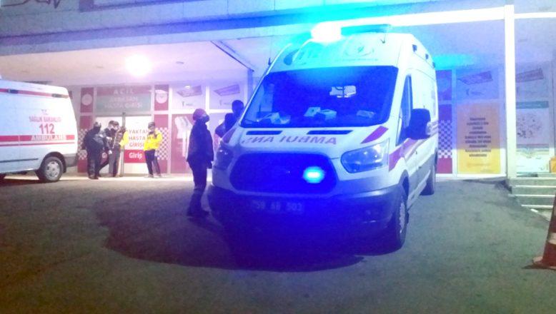 Silahlı çatışmaya müdahaleye giden iki polis yaralandı