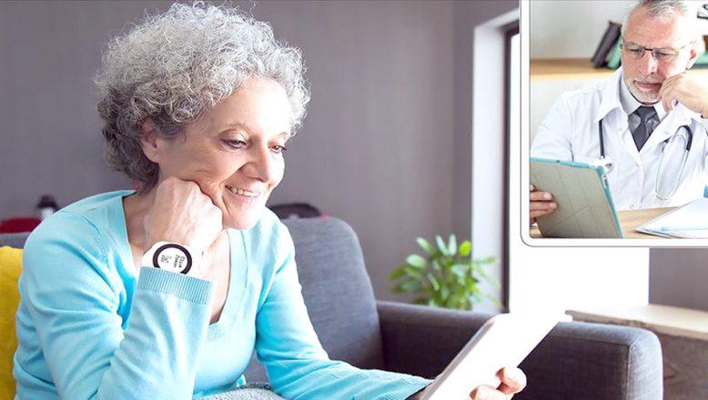 Yerli teknolojiyle, uzaktan sağlık takibi