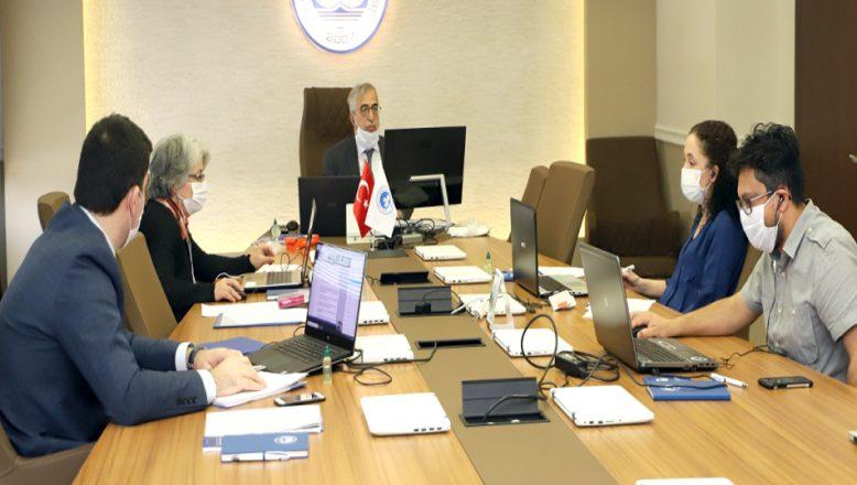 Senato ve Yönetim Kurulu toplantısı yapıldı