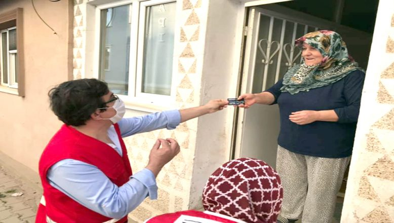 926 aileye, gıda kartı yardımı