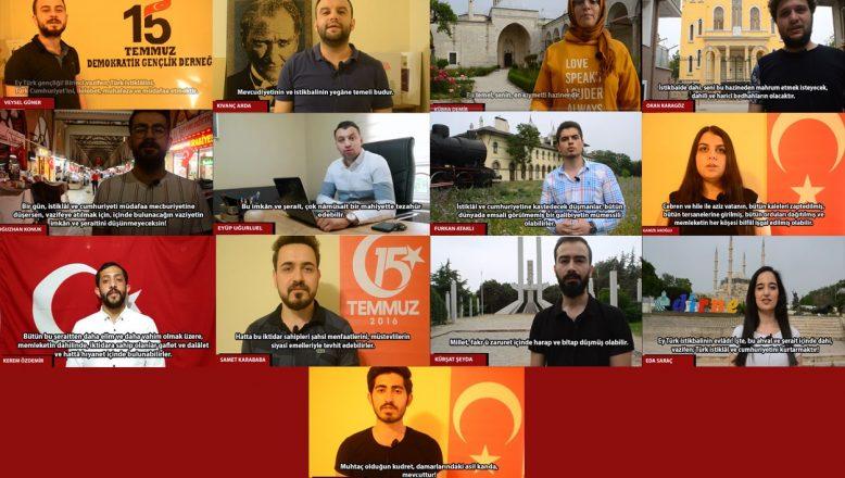 """Edirne'de gençler """"Atatürk'ün Gençliğe Hitabesi"""" klibi hazırladı"""