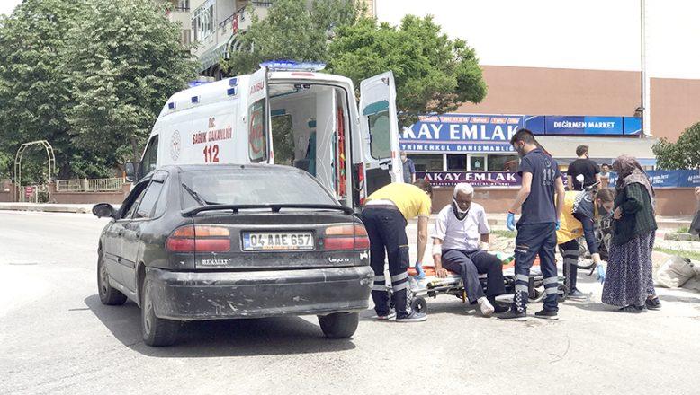 Kavşak kazasında 1 kişi yaralandı
