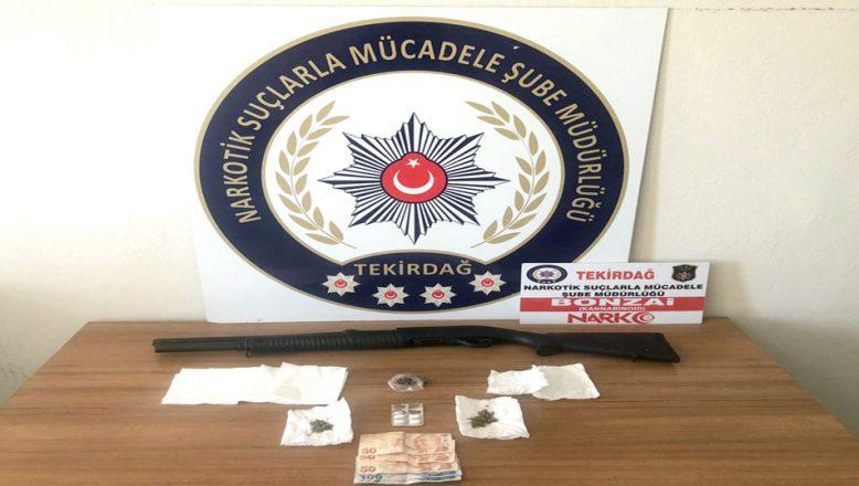 Uyuşturucu operasyonunda, üç kişi yakalandı