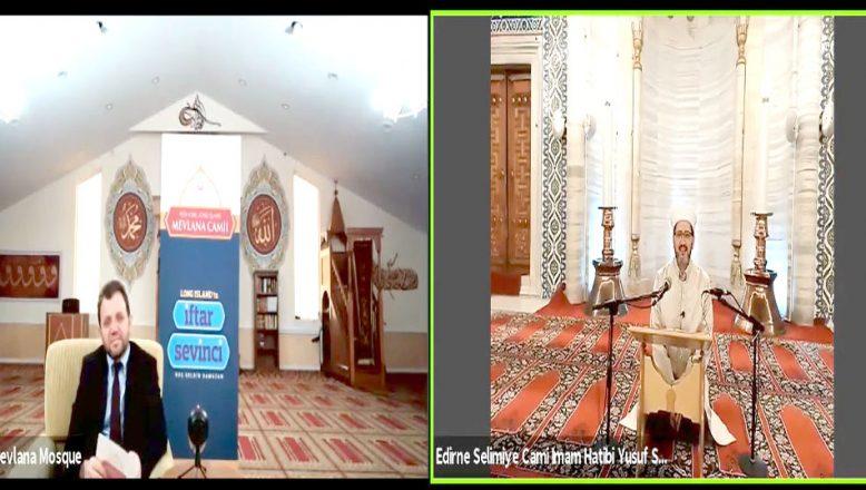 Selimiye'de okunan Kur'an, Amerika'daki iftar sofralarına ulaştı
