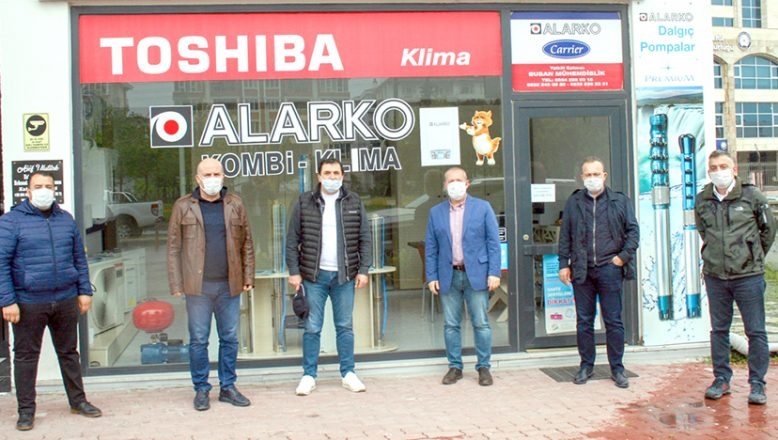 AK Parti'den geçmiş olsun ziyareti