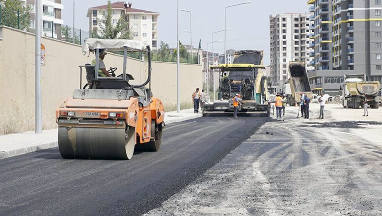 Abdi İpekçi Caddesi asfaltlanıyor