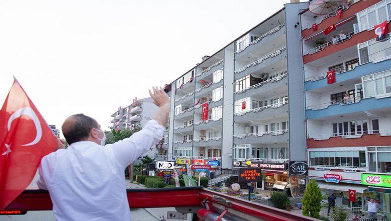 Edirne'de 19 Mayıs coşkusu