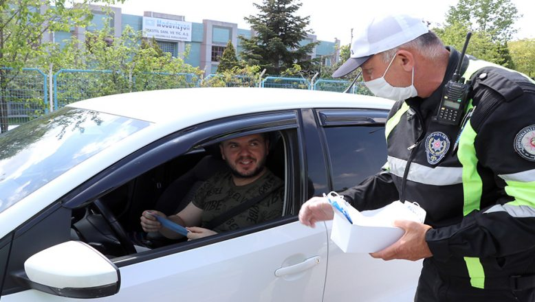 Polis sürücüleri bilgilendirildi