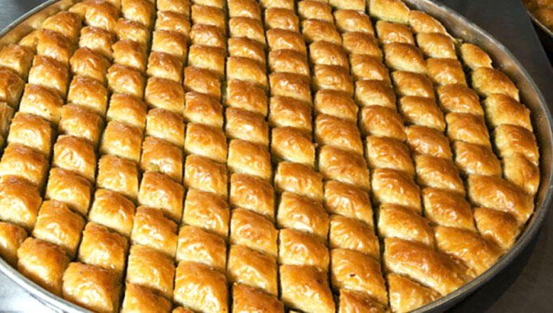 Osmanlı döneminde Rumeli'de, bayram sofraları, bademli baklavayla tatlanıyordu