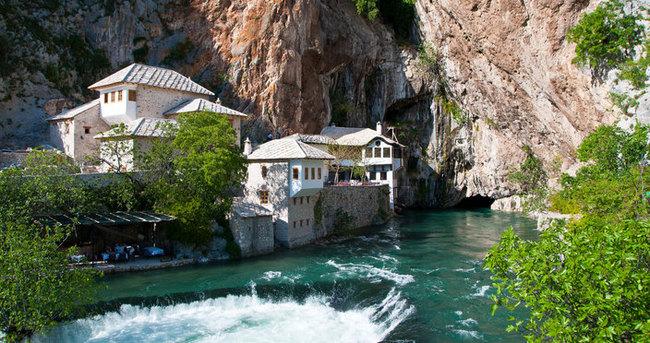 Mostar Saru Saltuk Tekkesi (Blagay) turizmin gözdesi