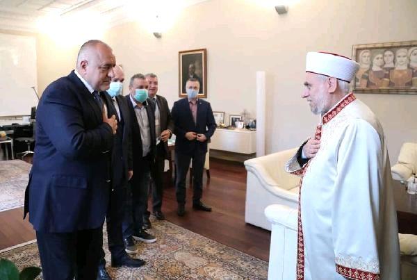 Başbakan Borisov, Başmüftü ile görüştü, Bayram namazları açık havada kılınacak