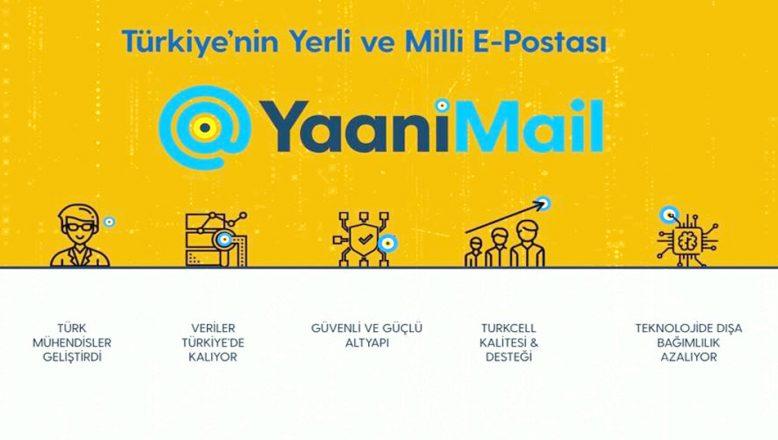 YaaniMail'den kurumlara, güvenli e-posta hizmeti