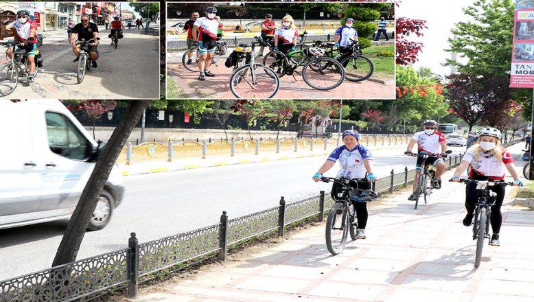 '19 Mayıs Bisiklet Turu' düzenlendi