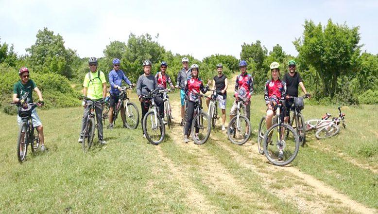 Keşan DOÇEK Bisikletçileri, keşif turundaydı