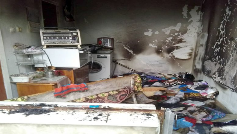 Ev savaş alanına döndü… 3 kişi yaralandı