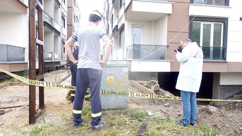 Elektrik akımına kapılan işçi ağır yaralandı