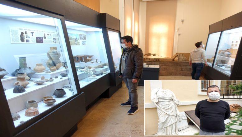 Tedbirlerin alındığı müze ve ören yerleri, ziyaretçileriyle buluştu