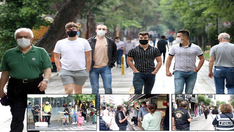 Maske denetiminde, polis ile vatandaşlar arasında ilginç diyaloglar