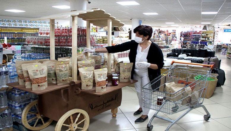 """Girişimci kadınların doğal ürünleri """"Avrupa""""ya açılıyor"""
