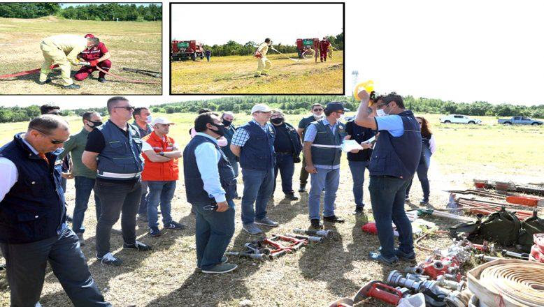 Yangın Sezonu İşbaşı Eğitimi düzenlendi
