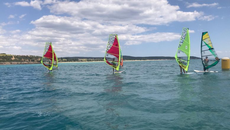 Erikli'de windsurf etkinliği gerçekleştirildi