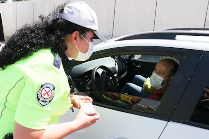 Polisten sürücülere güvenli seyahat  uyarısı