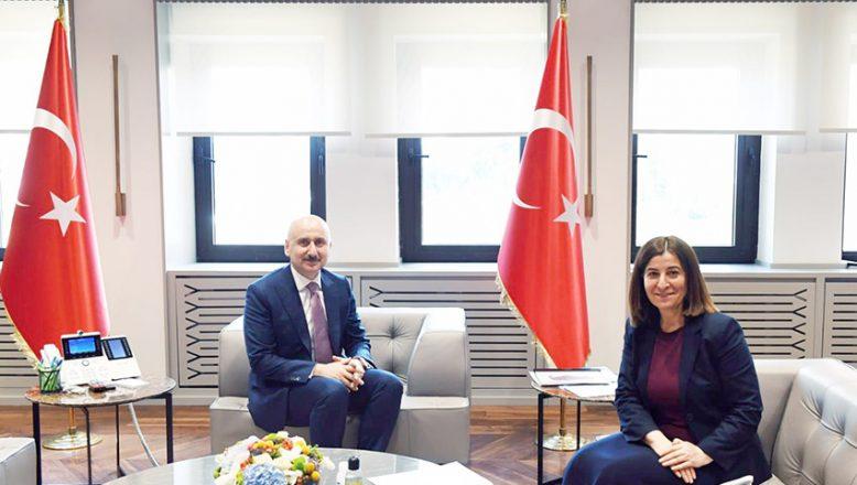 Milletvekili Aksal, Bakan Karaismailoğlu ile yatırımları görüştü