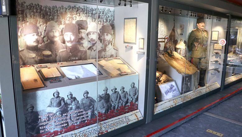 Çanakkale Savaşları Mobil Müzesi Edirne'de