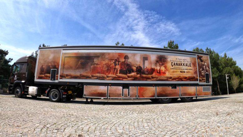 """""""Çanakkale Savaşları Mobil Müzesi"""" TIR'ı Edirne'ye gelecek"""