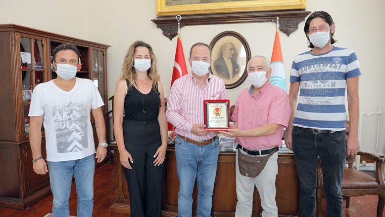 TGD'den, Başkan Gürkan'a teşekkür