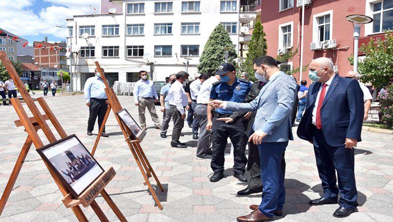 '15 Temmuz Şehitleri Resim Sergisi' açıldı