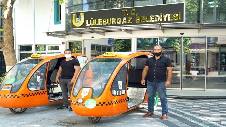 'Bisiklet Taksiler', Kovid-19 ayarıyla sefere başladı