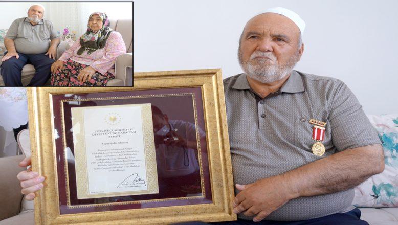 """""""Keşke sela yüzünden, beni şehit etselerdi"""""""