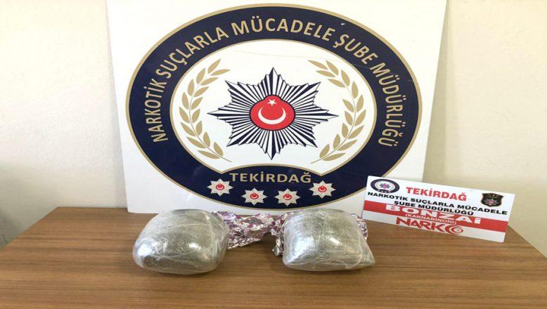 Kırklareli ve Tekirdağ'da, uyuşturucu operasyonları