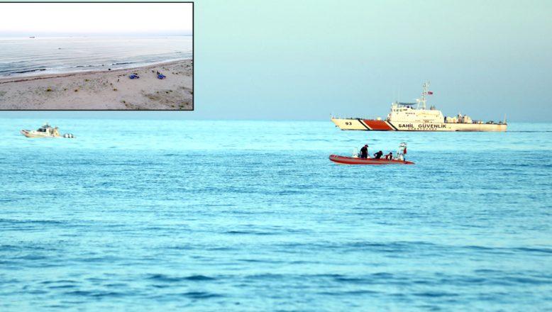 Denizde boğulan gencin cesedine ulaşıldı