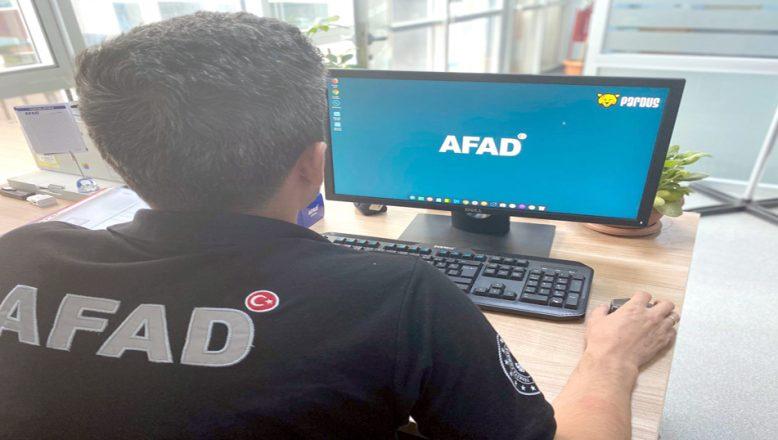Edirne AFAD, milli işletim sistemi Pardus'a geçti