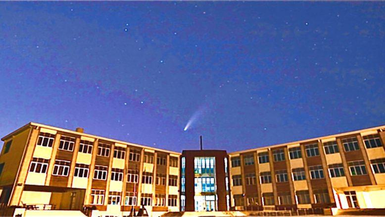 Neowise Kuyruklu Yıldızı görüntülediler