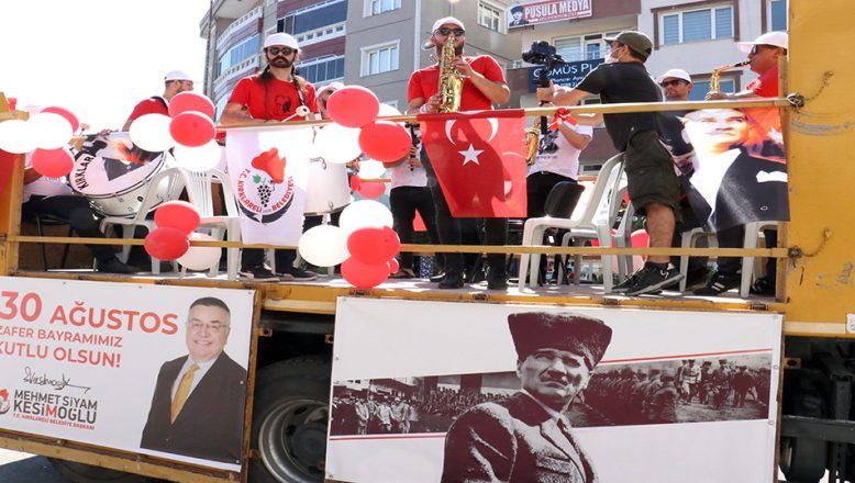 Kırklareli Belediyesi müzik ekibi, konser verdi