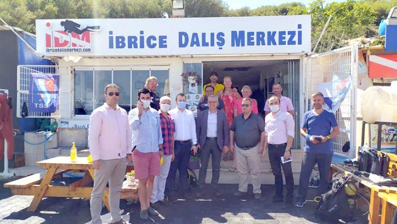 İbrice Limanı'nda dalış eğitim merkezleri toplantısı gerçekleşti