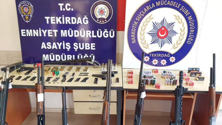 Helikopter destekli kaçakçılık ve uyuşturucu operasyonu
