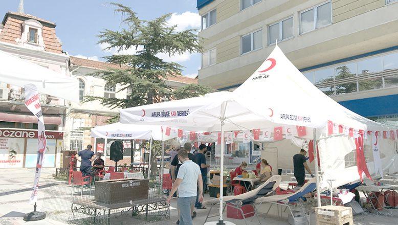 Türk Kızılaydan kan bağış kampanyası